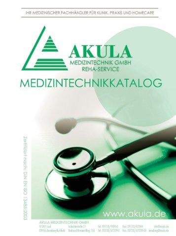 Akula Medizinprodukte 2012 - Akula Medizintechnik und Reha ...