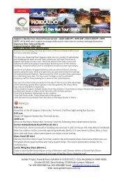 Sapporo 1 Day Bus Tour: Otaru - Golden Tropics Travel & Tours