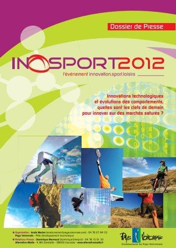 Dossier de presse 2012 - Inosport