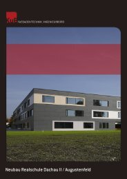 Neubau Realschule Dachau II / Augustenfeld