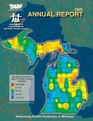 2006 Annual Report - School of Medicine - Wayne State University