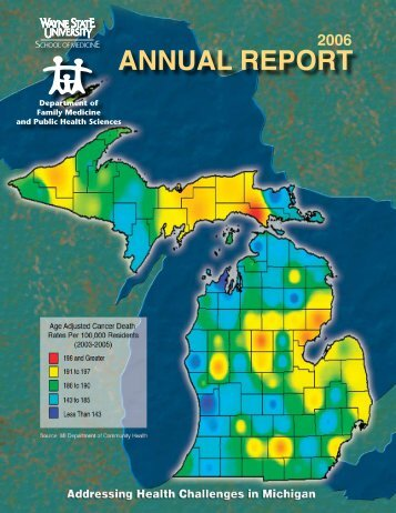 2006 Annual Report - School of Medicine - Wayne State University