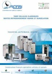 Acfri refroidissement et surgelation - LMI Maintenance