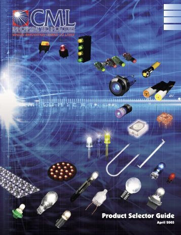 Product Selector Guide April 2005 - NTE Electronics