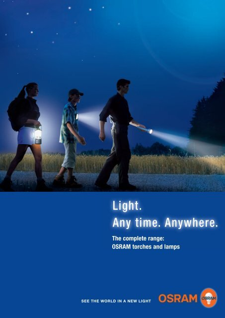 Torches and lamps - Osram