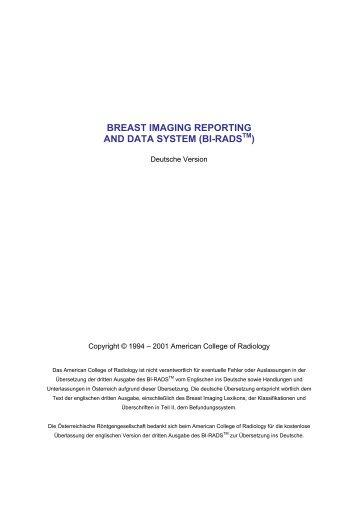 Bi-RADS-deutsch.pdf - Österreichische Röntgengesellschaft
