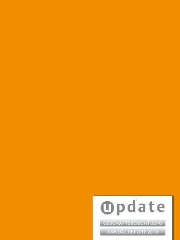 update_Geschaeftsbericht-Annual Report 2010 - Update Software AG