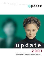 updatingcustomerrelations updatin - Update Software AG