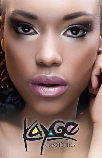 View 2013 Catalog - Kayge Cosmetics