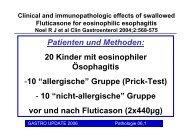Neues aus der gastroenterologischen Pathologie