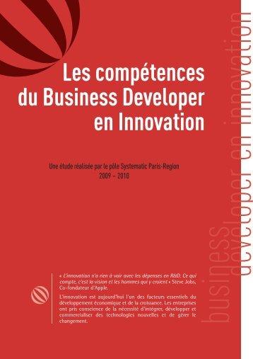 Les compétences du Business Developer en Innovation - Systematic