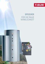 SPEICHER für die raue Wirklichkeit - EWS GmbH & Co. KG
