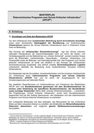 APCIP - KIRAS Sicherheitsforschung