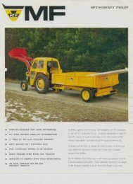 M F MF21 HIGHWAY TRAILER - Massey Archives