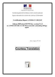 anssi-cc-2012/43 - Agence nationale de la sécurité des systèmes d ...