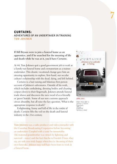 2010 Adult Catalogue January - University of Queensland Press