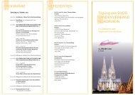 Programm und Anmeldung zum download - BVDD