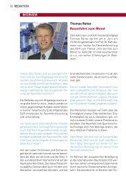 Interview mit Thomas Reiter, 05+06/09 - Urania