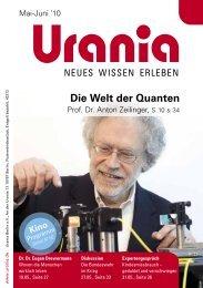 Die Welt der Quanten - Urania