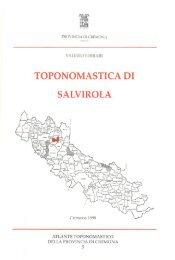 Scarica il numero in pdf - Biblioteca digitale - Provincia di Cremona