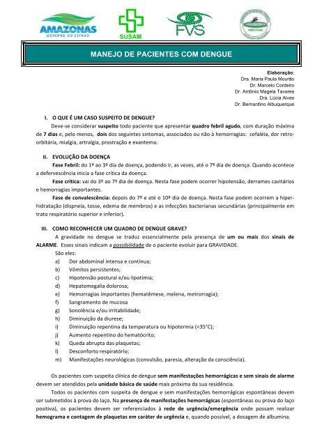 Rotina dengue_rede_2013 - FMT/HVD