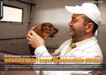 Influenza AH1N1 causa un holocausto porcino - Generaccion.com