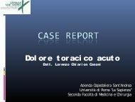 Campus Angelini caso clinico 3 dolore toracico acuto - elearning
