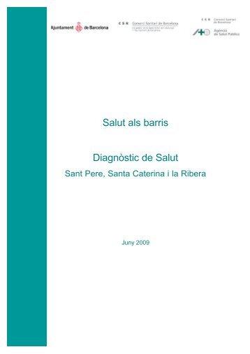 Diagnóstic de salut. Sant Pere, Santa Caterina i la Ribera