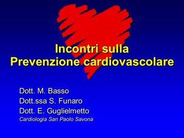 Incontri sulla Prevenzione cardiovascolare Incontri sulla ...