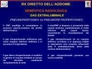 rx diretto dell'addome - Ferrariradiologia.it