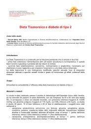 Dieta Tisanoreica e diabete di tipo 2 - Erboristeria Arcobaleno