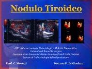 ADI Nodulo Tiroideo, Ottobre 2012, parte 1 - Endocrinologia