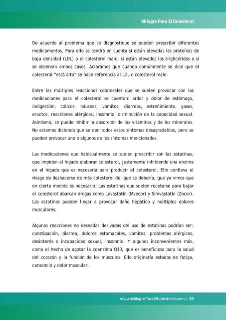 traducción del inglés al español - Milagro Para El Colesterol
