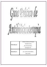 Manual Antibioticoterapia - Hospital Santa Rosa