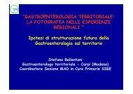 Dott. Stefano Bellentani - Quaderni del Ministero della Salute