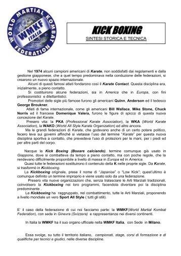 Sintesi Storica e Tecnica della Kick Boxing[1].pdf - martialkombat.org