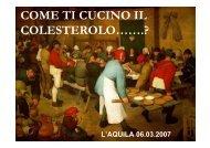 COME TI CUCINO IL COLESTEROLO…….? - Scherza col cuoco