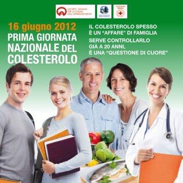"""16 giugno 2012 IL COLESTEROLO SPESSO È UN """"AFFARE ... - Sisa"""