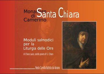 di anta hiara - Sorelle Povere di Santa Chiara