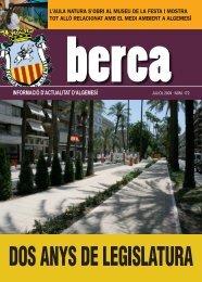 Berca juliol 2009 - Inici - Ajuntament d'Algemesí