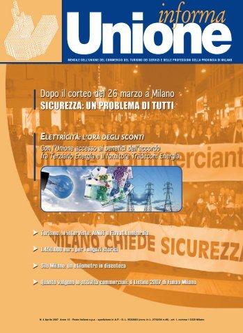 Aprile 2007 - Anno 12 - Unione del Commercio di Milano