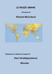 LE RAZZE UMANE Richard McCulloch Dani VeraOpposizione ...