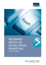 Messbarer Erfolg im Social Media Marketing - Bundesverband ...