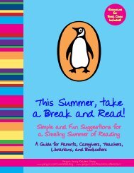 This Summer, take a Break and Read!