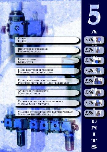 filtri riduttori di pressione lubrificatori filtri riduttori di pressione ... - KPM