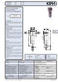 filtri riduttori di pressione lubrificatori filtri riduttori di pressione ... - KPM - Page 3