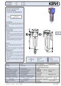 filtri riduttori di pressione lubrificatori filtri riduttori di pressione ... - KPM - Page 5