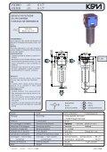 filtri riduttori di pressione lubrificatori filtri riduttori di pressione ... - KPM - Page 7