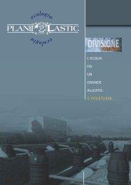 Catalogo FOGNATURE - Planiplastic Ecologia S.r.l.