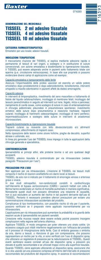 Tisseel Magazines